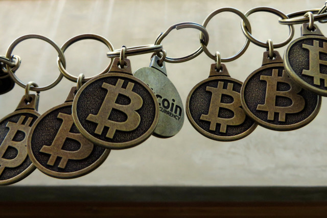If the blockchain were made of keychains, it would look like this.